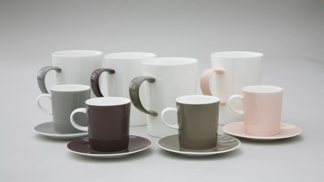 Cuisine Coloured Bone China